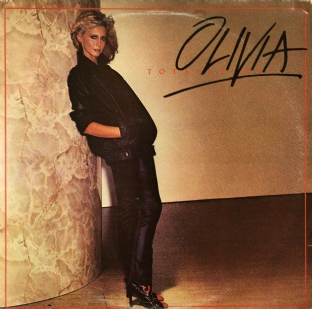 Olivia Newton-John - Totally Hot (LP) (VG+/G+)